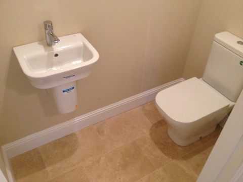 sink and toilet renovation